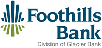 Foothills Bank logo - Division of Glacier Bank
