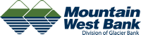 Mountain West Bank logo - Division of Glacier Bank