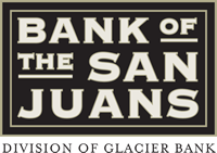 Bank of the San Juans logo - Division of Glacier Bank